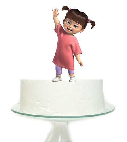 Monsters Inc Girl Big Topper for Cake - 1 pcs set