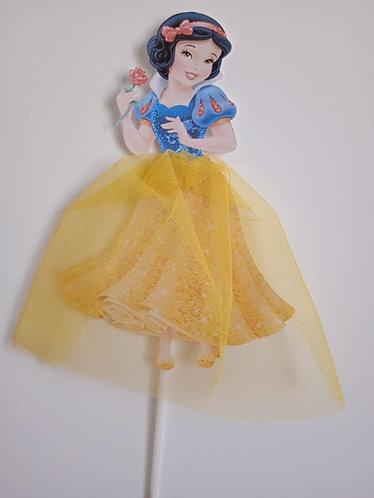 Princess Snow White Big Topper for Cake - 1 pcs set