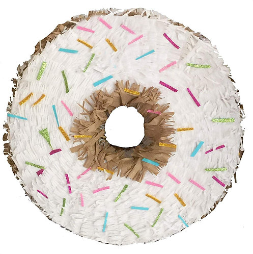 Donut Birthday Party Pull Strings Pinata -40cm