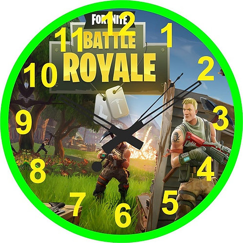 Fortnite Game Clock