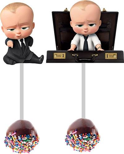Boss Baby Cakepops Toppers - 12 pcs set