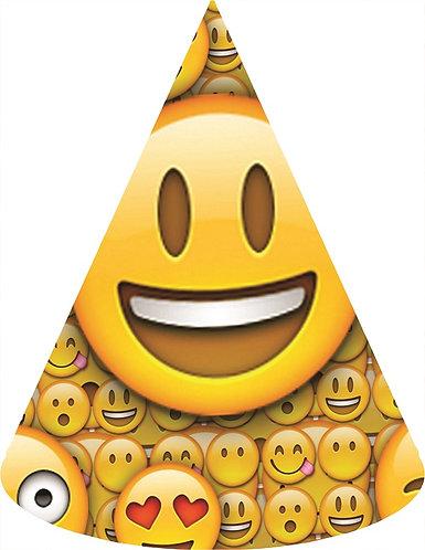 Emoji Party Hats - 6pcs