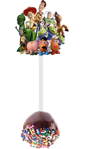 Toy Story Cakepops Toppers - 12 pcs set