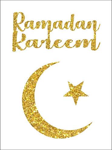 RAMADAN KAREEM Eid Congratulation Card