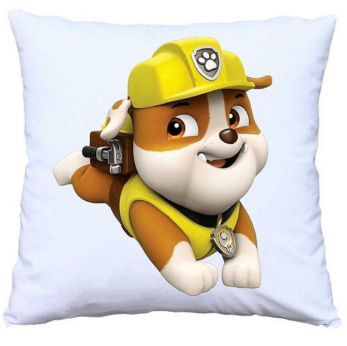 Paw Patrol Rubble Cushion Decorative Pillow - 40cm