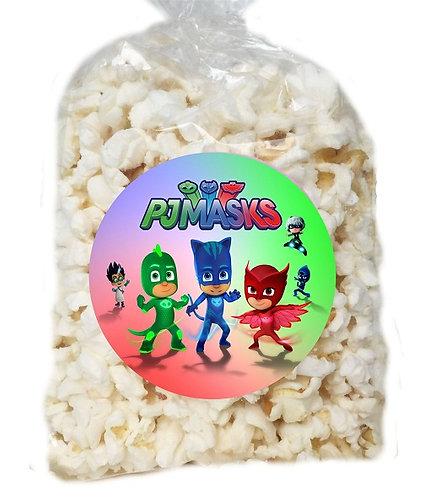 PJ Masks Giveaways Clear Bags for Popcorn or Candies - 12 pcs set