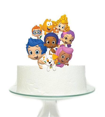 Bubbles Goopies Big Topper for Cake - 1 pcs set