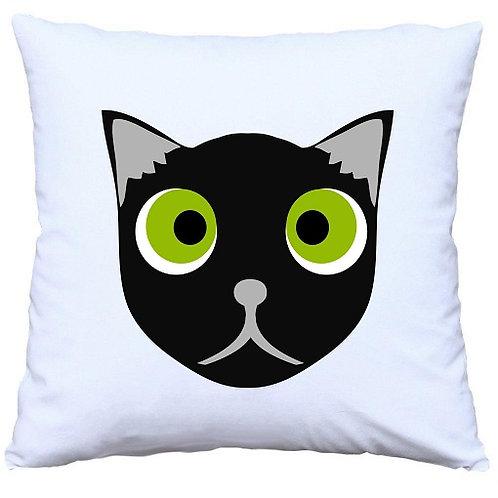 Halloween Black Cat Cushion Decorative Pillow - 40cm