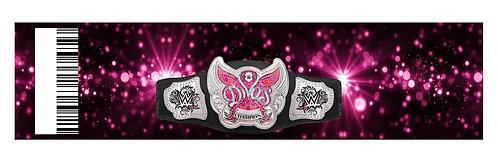 Wrestling WWE Divas Water Bottles Stickers - 6 pcs set