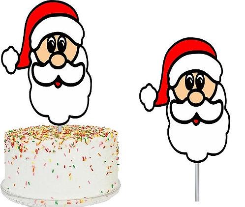 Christmas Santa Big Topper for Cake - 1 pcs set