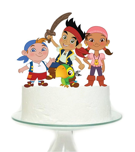 Kids Pirates Big Topper for Cake - 1 pcs set
