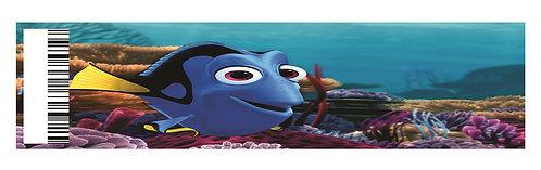 Nemo Dory Water Bottles Stickers - 6 pcs set