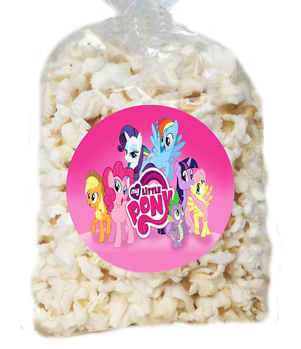 My Little Pony Giveaways Clear Bags for Popcorn or Candies - 12 pcs set