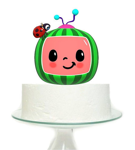 Cocomelon Big Topper for Cake - 1 pcs set