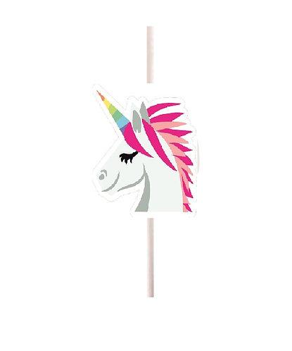 Unicorn Head Cakepops Toppers - 12 pcs set