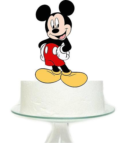 Mickey Big Topper for Cake - 1 pcs set