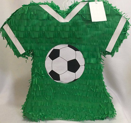 ANY COLOR Football Soccer T Shirt Birthday Party Pull Strings Pinata - 40