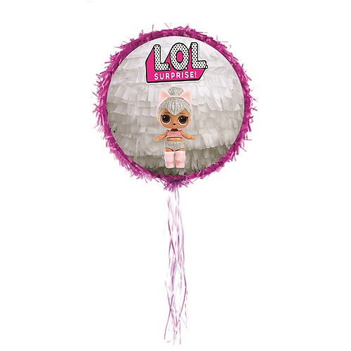 LOL Surprise Birthday Party Pull Strings Pinata - 35 cm