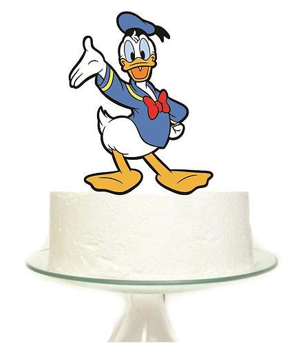 Donald Duck Big Topper for Cake - 1 pcs set