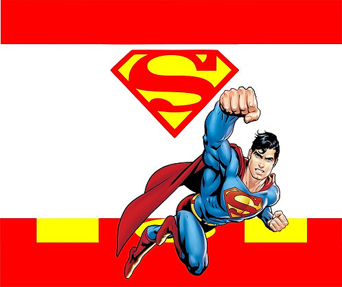 Superman Invitations - 6pcs party invites