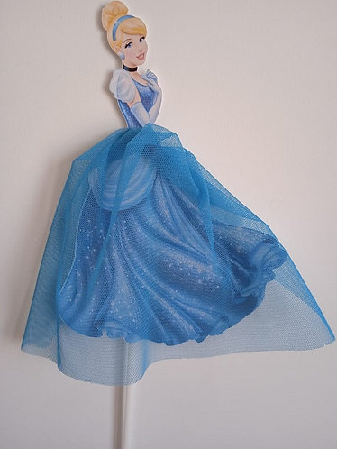 Princess Cinderella Big Topper for Cake - 1 pcs set