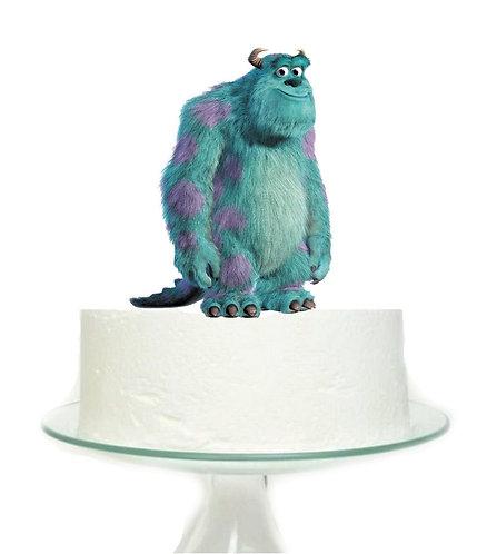 Monsters Inc Blue Big Topper for Cake - 1 pcs set