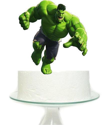 Hulk Superheroe Big Topper for Cake - 1pcs set