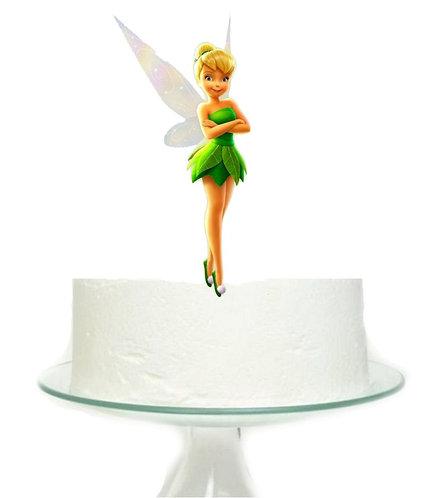 Tinkerbell Big Topper for Cake - 1 pcs set
