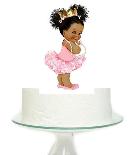 Baby Girl Big Topper for Cake - 1 pcs set