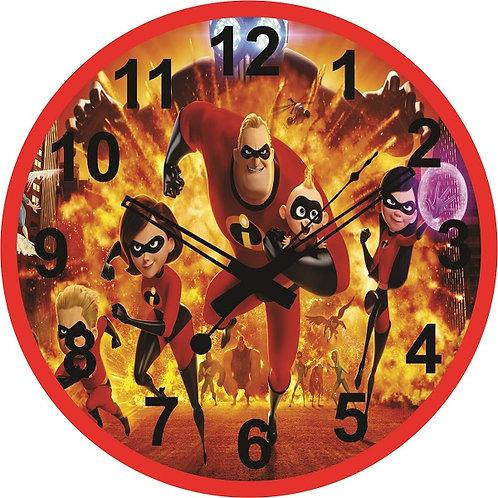 Incredibles Clock