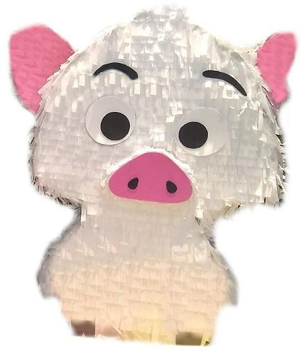 Moana Pua Pig Party Pull Strings Pinata - 40cm