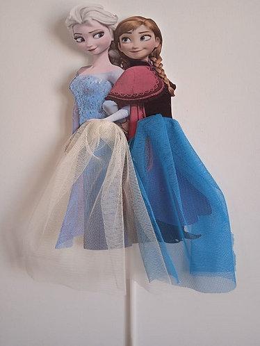 Princess Ana Frozen Big Topper for Cake - 1pcs set