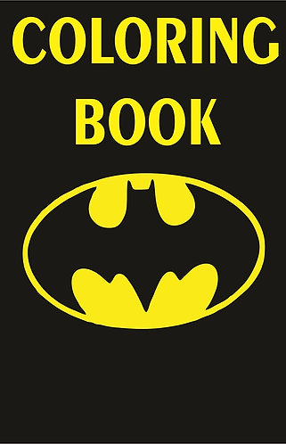 Batman Logo Small Coloring Book