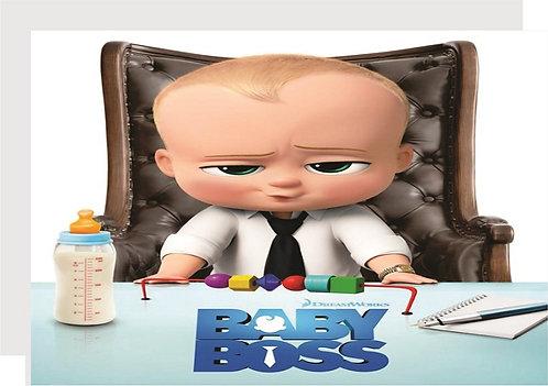 Boss Baby Invitations - 6pcs party invites