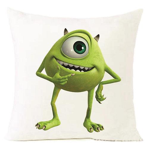 Monsters Inc Green Cushion Decorative Pillow - 40cm