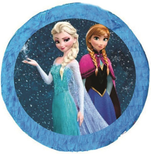 Frozen Ana Elsa Birthday Party Pull Strings Pinata - 35 cm