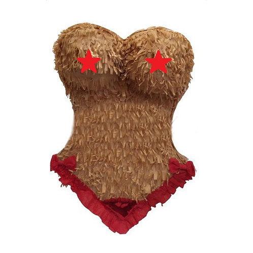 Adult Woman Body Bachellorette Party Pinata - 40 cm