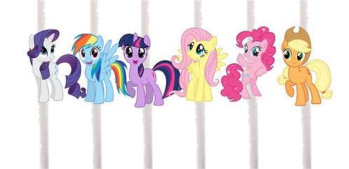My Little Pony Cakepops Toppers - 12 pcs set