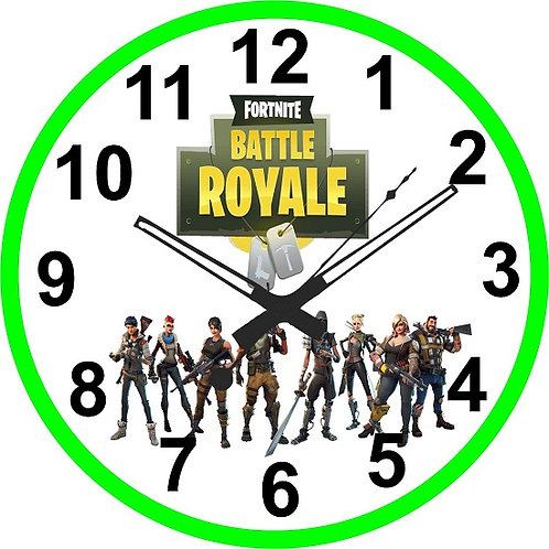 Fortnite Game Clock