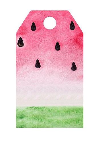 Watermelon Gifts Tags - 12 pcs set