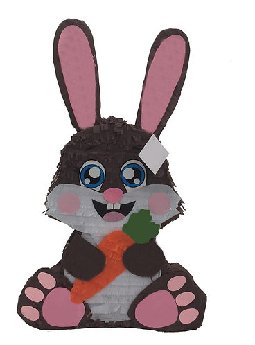 Easter Bunny Party Pull Strings Pinata -40cm
