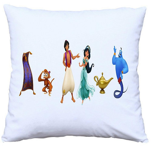 Aladdin Characters Cushion Decorative Pillow - 40cm