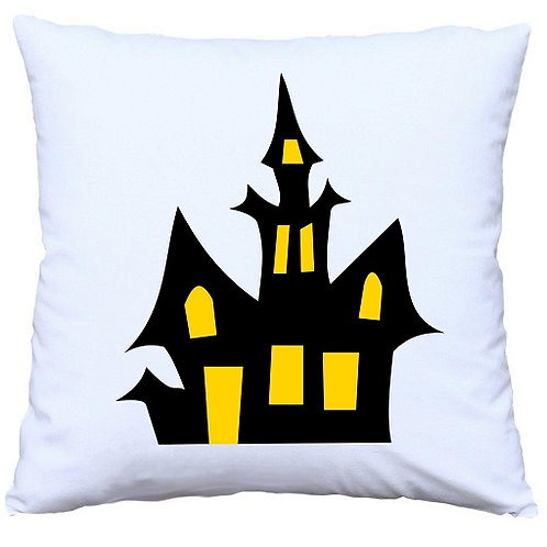 Halloween Haunted Castle Cushion Decorative Pillow - 40cm