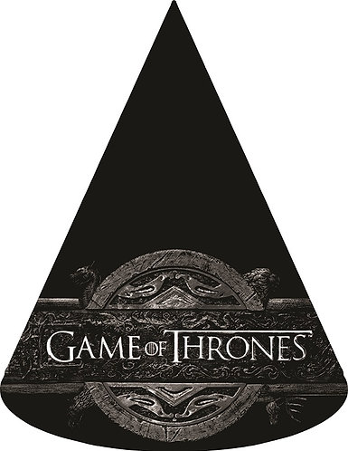 Game of thrones Party Hats - 6pcs