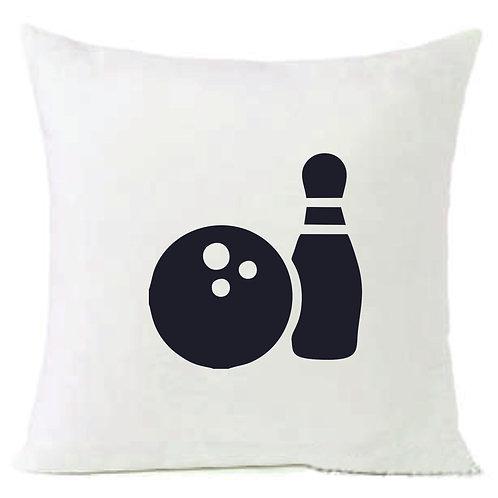 Sports Bowling Cushion Decorative Pillow - 40cm