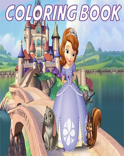 Princess Sofia the First Small Coloring Book