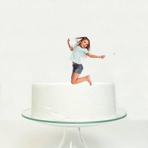 CUSTOM Photo Big Topper for Cake