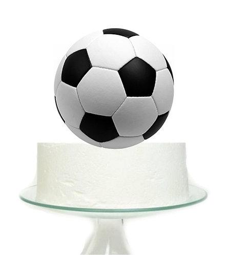 Soccer Football Sports Big Topper for Cake - 1pcs set