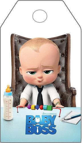 Boss Baby Gifts Tags - 12 pcs set