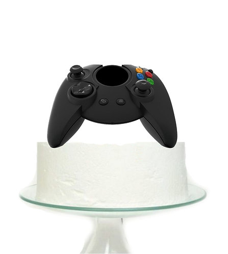 Gamer Control Big Topper for Cake - 1pcs set